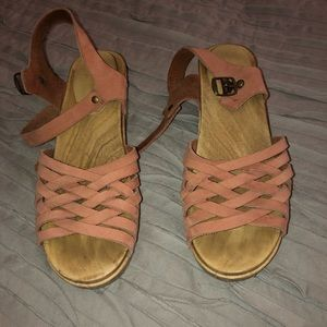 Pink Sven Clog Sandals 39